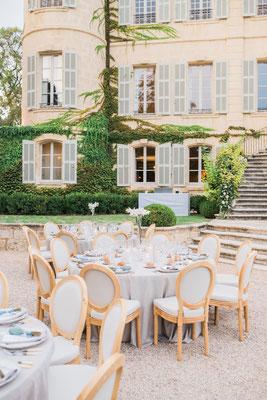 Crédit Photo : Dan Petrovic : Mariage organisé par Muriel Saldalamacchia Wedding Planner, décoré par Audrey Mauro Wedding Designer
