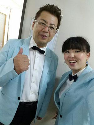 菊池先生と私(*´꒳`*)
