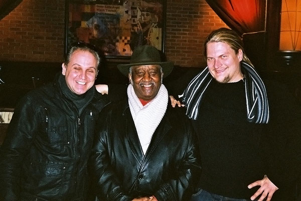 With Soul Funk Legend Bernard Purdie & Jarkko Rantala Finnland