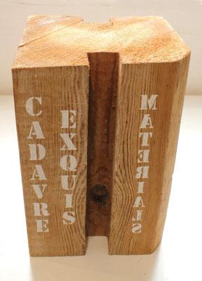 Holz bedrucken Siebdruck