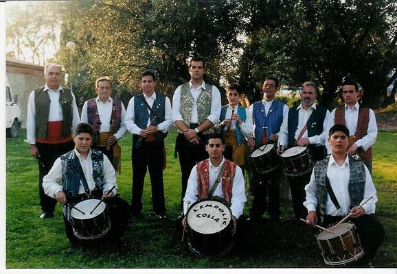 Comienzo de la Colla l´Embolic en el año 2002.