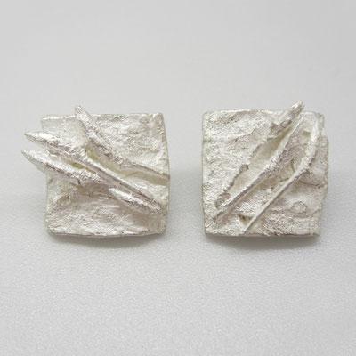 Ohrstecker aus massivem Silber