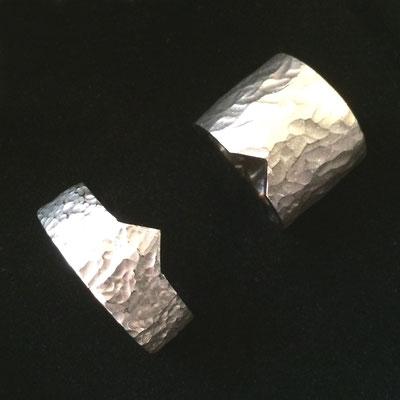 Eheringe aus 750er Palladiumweißgold