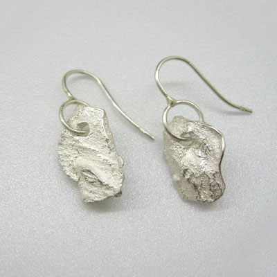 Ohrhänger aus massivem Silber