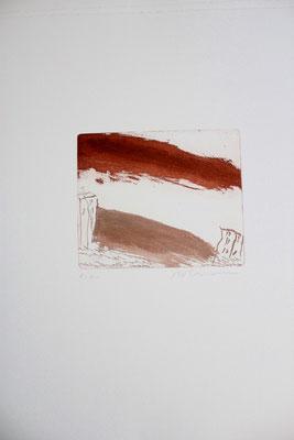 Karl Bohrmann, Farbradierung e.a., 50 x 38 cm, Preis auf Anfrage