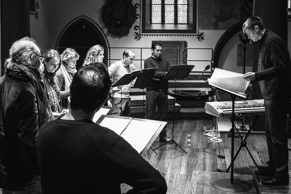 Basler Madrigalisten, rehearsal