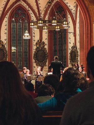 Basler Madrigalisten, in concert