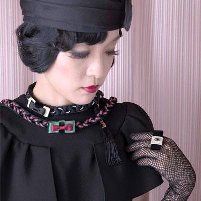 [O・SA・GE Brooch]三編み部分は肌ざわりも優しいマスターシードコットン製
