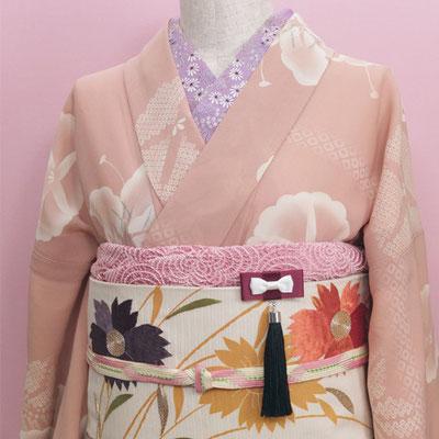 [腹心の友ブローチ〜ダイアナ]根付や帯飾りとして和装にも調和します