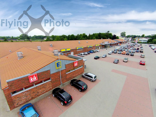 Luftbild - Fachmarktzentrum in Süderbrarup