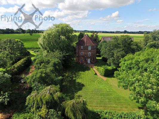 Luftbild - Einfamilienhaus