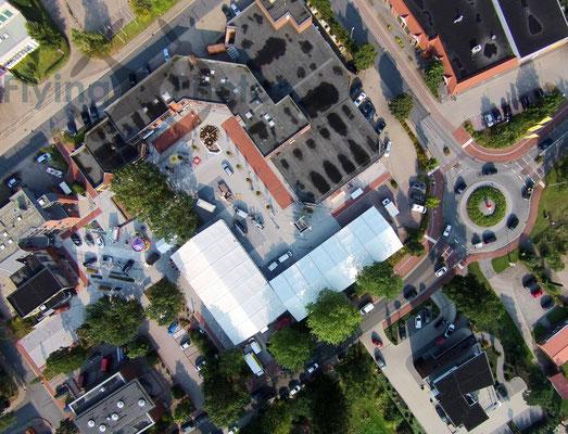 Luftbild - Die CUXLAND Austellung in Hemmoor