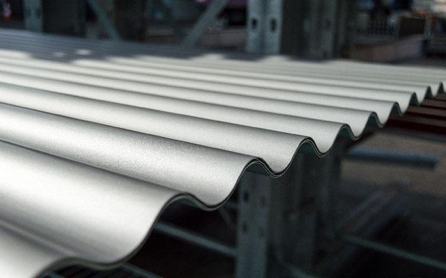 Wellblech - Bedachungsysteme © Prell Eisenhandel GmbH & Co. KG, Schwabach