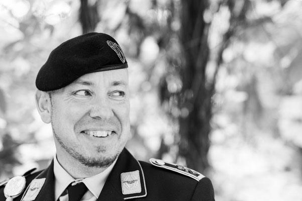"""Veteran Dirk Meyer-Schuman beim Fotoshooting """"Gesichter des Lebens"""""""
