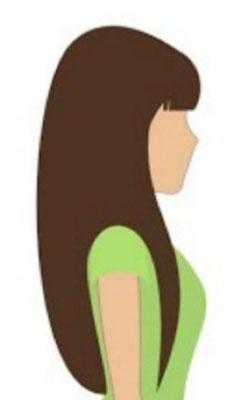 sehr lange Haare und ggf. dickereshaar