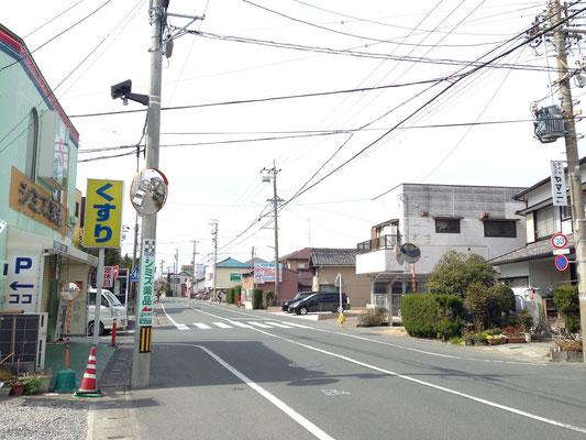 浜松市 篠原 避難施設周辺 5