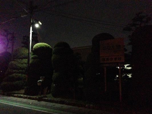浜松市 篠原 避難施設周辺 2