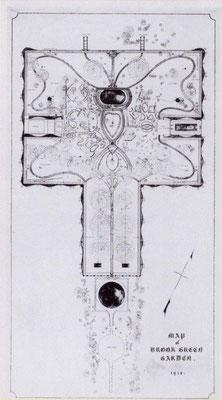 Original garden layout