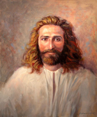 "2005 -#10 ; The Christ -  Oil - 20""x16"" - Courtesy of Sharon Howerton"