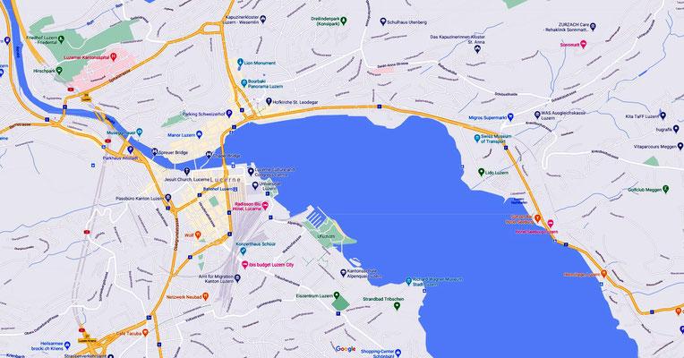 Lucerne Map 1