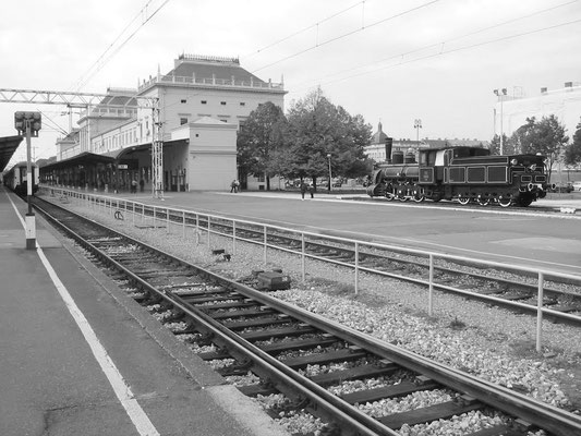 Zagreb Glavni kolodvor or Zagreb main station