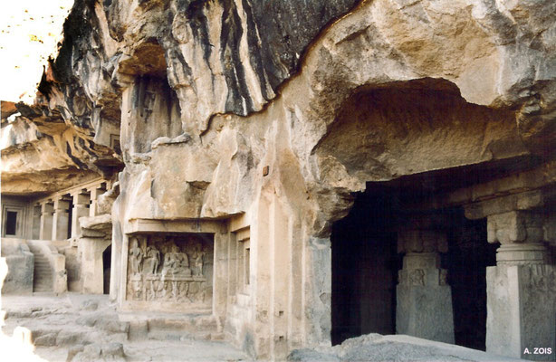 Buddhist Caves ; photo by Anthony Zois