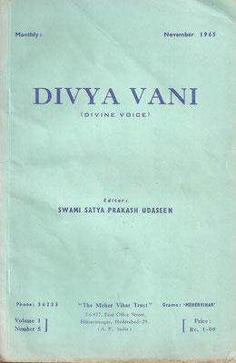 November 1965 - Front cover