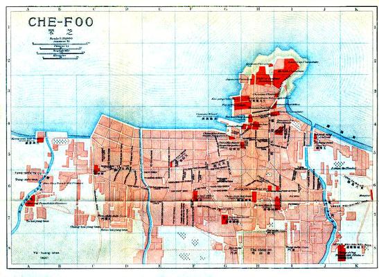 Chefoo map - 1915