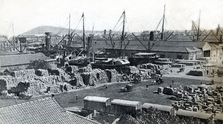 Bombay docks 1920s