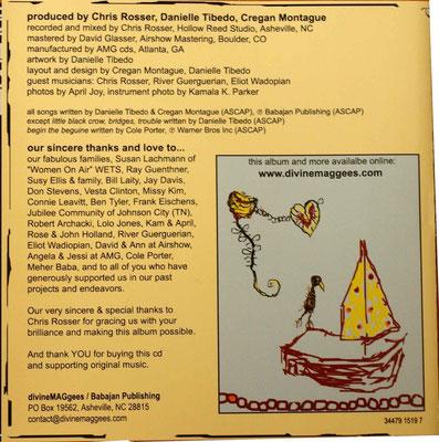 CD ; Inside cover