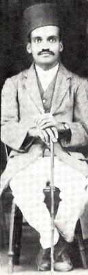 "Dr. Abdul G. Munsiff "" Ghani "" 1920s"