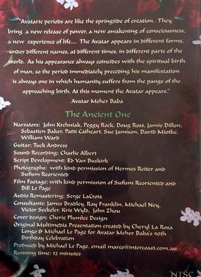 DVD - Back Cover