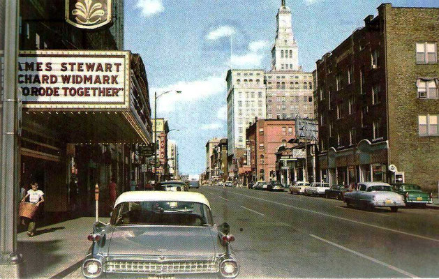 Davenport, Iowa 1950s