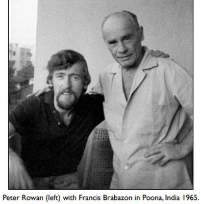 Francis with Peter Rowan.