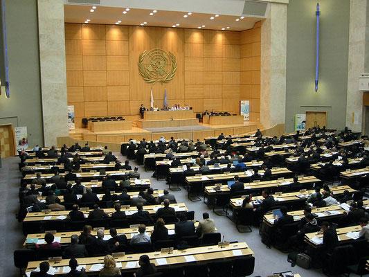 United Nations - Geneva - interior