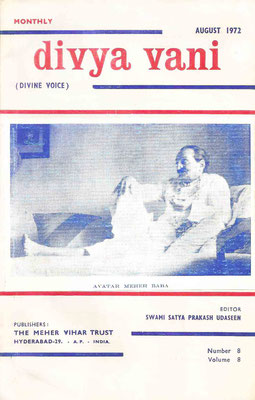 August  1972 - Front cover