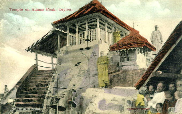 Temple on Adams Peak - Ceylon c_1909