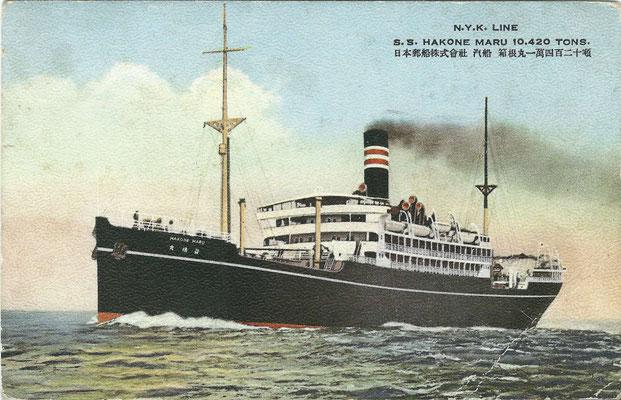SS. HAKONE MARU