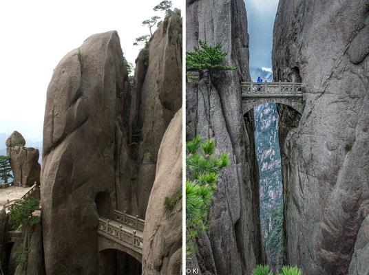 Mt. Tai - the walking bridge