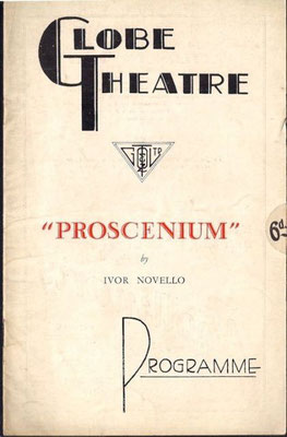 Programme from the play