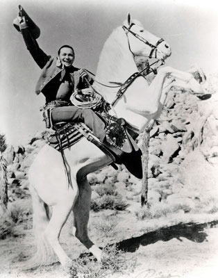 TEX RITTER on White Flash