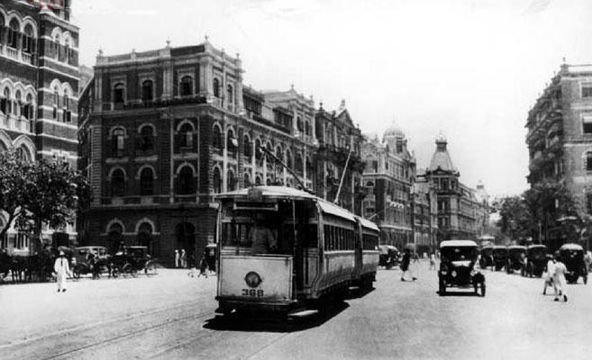 Bombay street 1930s