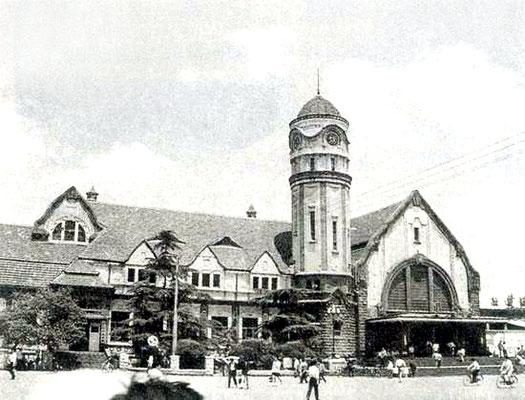 Tsinan-Jinan- Railway Station in Shandong, China