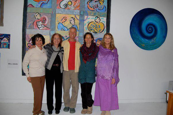Phyllis Green, Katheryn Cox, Will David, Vanessa Connor and Susan White