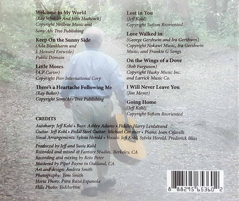 CD - back cover