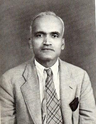 "Dr. Abdul G. Munsiff "" Ghani "" 1940s"
