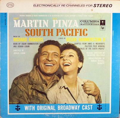 1949 Broadway LP recording - starring Mary Martin & Ezio Pinza
