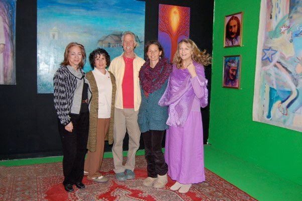 Kathryn Cox, Phyllis Green, Will David, Vanessa Connor and Susan White