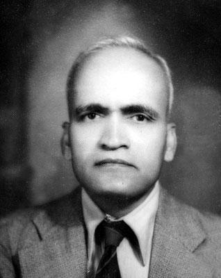"""""""Ghani """" Dr. Abdul G. Munsiff"""