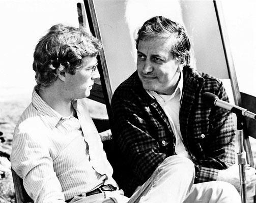 (l-r) Charles Haynes with Lyn Ott. Photo taken by Frank Bloise